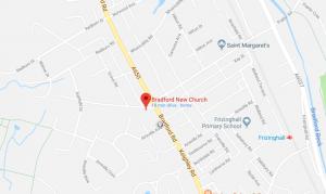 Map for bradford new church